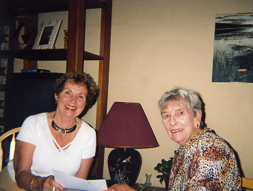 Marjory Lyons and Wilma Willis Gore, Writer – Sedona, AZ